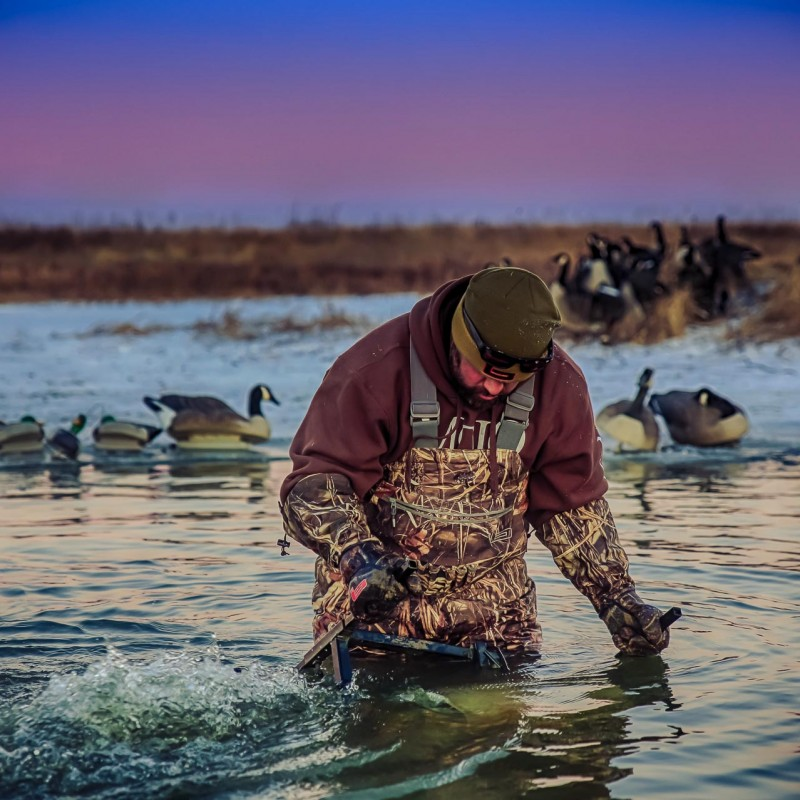 Ice Eater Fowl Life duck hunting